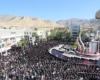تجمع بزرگ عزاداران حسینی در ایلام برگزار شد